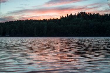 Sjön vid Bunn
