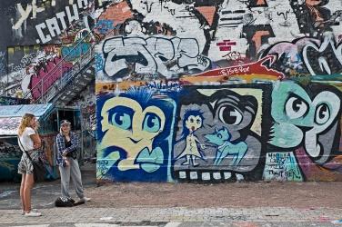 Grafitti tjejer